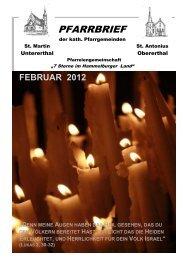 februar 2012 - Untererthal - Kath. Kirche Hammelburg