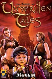 Manual - The Book of Unwritten Tales - KING Art Games