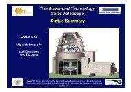 The Advanced Technology Solar Telescope Status Summary