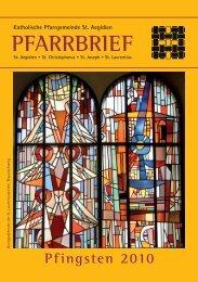 PFARRBRIEF - Bistum Hildesheim