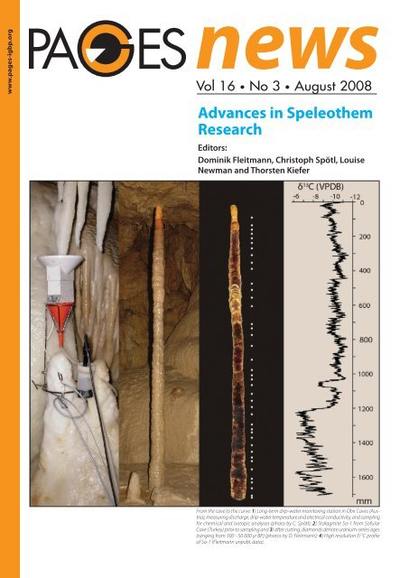 Uranium series dating of speleothems current techniques limits and applications