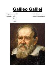 Was hat Galileo Galilei der Menschheit gebracht?