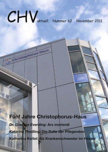 Fünf Jahre Christophorus-Haus - Christophorus Hospiz Verein e.V.