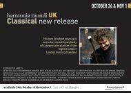 Classical new release - Classic music distribution