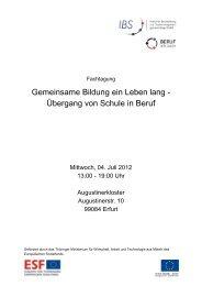 Tagungsmappe - Die IBS GmbH