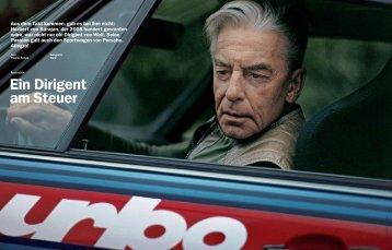 Herbert von Karajan - Porsche