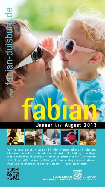 121120_Fabian 1_13.indd - Ev. Familienbildungswerk Duisburg