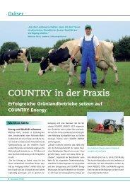 COUNTRY in der Praxis - DSV