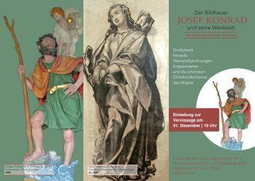 Einladung Ausstellung Konrad - Weihnachtliches Kempten