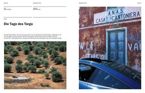 Die Tage des Targa - Porsche
