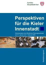 Perspektiven für die Kieler Innenstadt - Landeshauptstadt Kiel