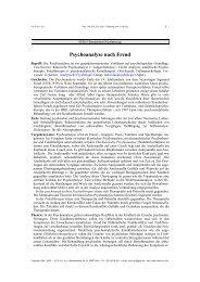 Psychoanalyse nach Freud - Netzwerk Psychotherapie und ...
