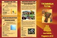 Flyer 2013 - Trommeln - Total
