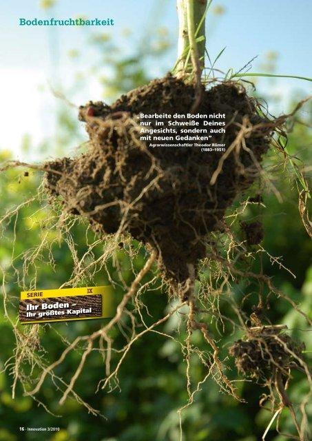 Bodenfruchtbarkeit - DSV
