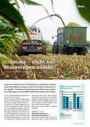 Silomais – nicht nur Massetypen zählen - DSV