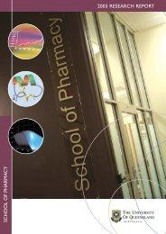 Research Report 2003 - University of Queensland