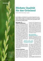 Höchste Qualität für das Grünland - DSV