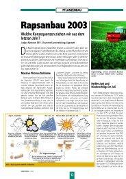 pflanzenbau - DSV