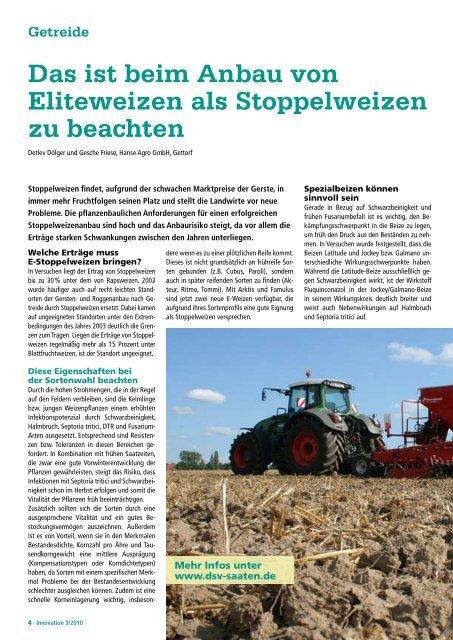 Getreide - DSV