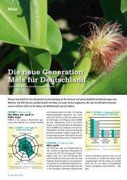 Die neue Generation Mais für Deutschland - DSV