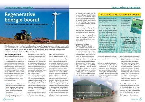 Erneuerbare Energien - DSV