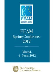 4-5 May 2012: FEAM Spring Conference at