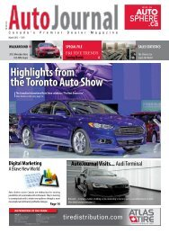 Highlights from the Toronto Auto Show - Autosphere