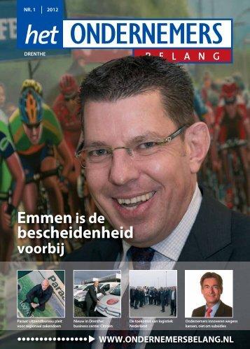 Het Ondernemersbelang Drenthe nummer 1-2012