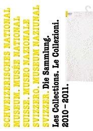 Sammlungsbericht 2010/2011