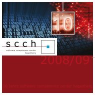 10 Years of SCCH - Software Competence Center Hagenberg