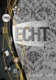 Katalog 2012 (D/E) - ECHT Schmuck & Design
