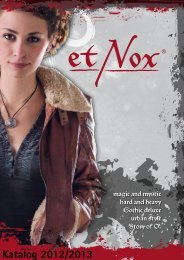 etNox-Katalog 2012 (D/E) - ECHT Schmuck & Design
