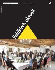 Titelseite Aktuell - in Feldkirch