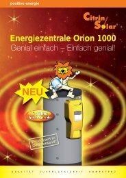 Energiezentrale Orion 1000