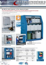 PolySafe Depot Typ PSR 8.8, sichere Lagerung ... - DT Lagersysteme
