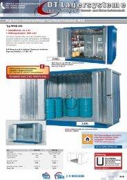 Begehbare Gefahrstofflager Typ Modul ... - DT Lagersysteme