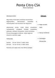 Penta Citro CSA - PentaClean Kft.