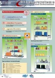 Gefahrstoffregale - DT Lagersysteme
