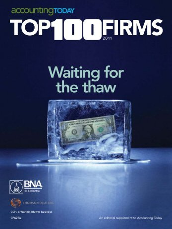 Accounting Today - Top 100 Firms 2011 - Blue and Co., LLC