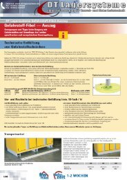 DT Lagersysteme Gefahrstoff-Fibel-Auszug
