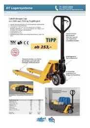 ab 253,- - DT Lagersysteme