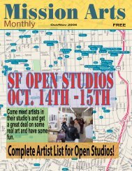 Oct/Nov 2006 pdf - Mission Arts Monthly