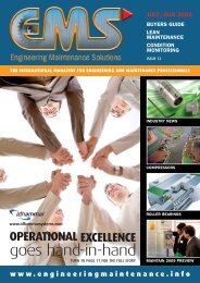 to read the july/august 09 - engineering maintenance info, news ...