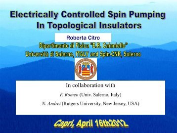 Electrically controlled spin pumping in topological insulators