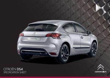 DS4 Range - Citroen