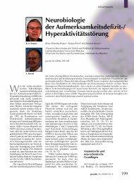 Neurobiologie der Aufmerksamkeitsdefizit ... - Hyperaktiv.de