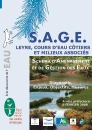 leyre, cours d'eau côtiers et milieux associés leyre, cours ... - Gest'eau