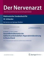 aktivitätsstörung in Deutschland Teil 2 - Michael Schlander