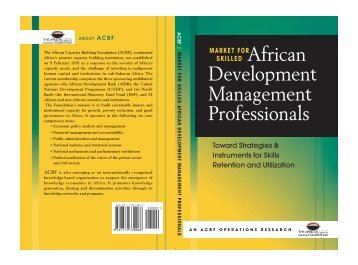 Market for Skilled African Development Management Professionals