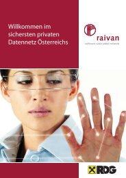 Willkommen im sichersten privaten Datennetz Österreichs - Raiffeisen